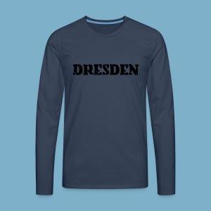 City Motiv Dresden - Männer Premium Langarmshirt