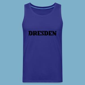 City Motiv Dresden - Männer Premium Tank Top