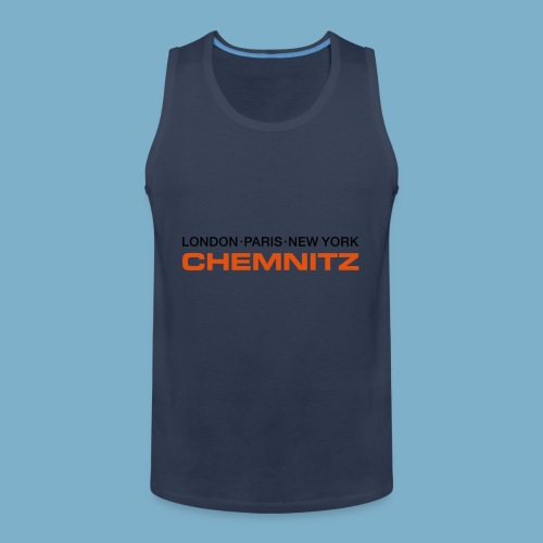 City Motive Chemitz - Männer Premium Tank Top