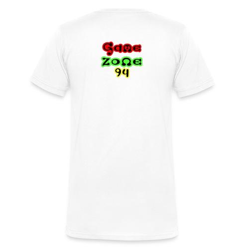 Tasse - Männer Bio-T-Shirt mit V-Ausschnitt von Stanley & Stella
