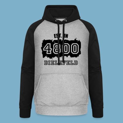 City Motive Bielefeld 4800 - Unisex Baseball Hoodie