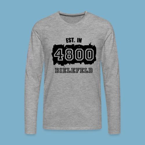 City Motive Bielefeld 4800 - Männer Premium Langarmshirt