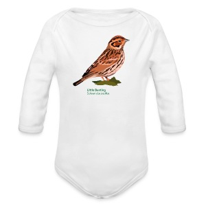 Little Bunting-bird-shirt - Baby Bio-Langarm-Body