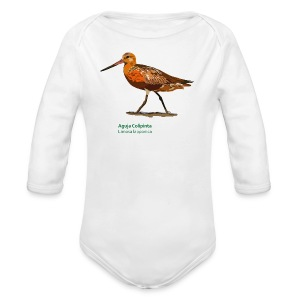 Aguja Colipinta-bird-shirt - Baby Bio-Langarm-Body