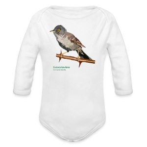 Curruca Gavilana-bird-shirt - Baby Bio-Langarm-Body