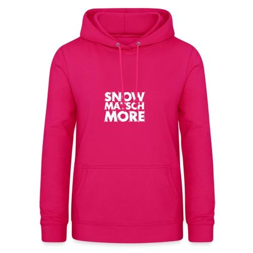 Snow Matsch More - T-Shirt Frauen mint/weiß - Frauen Hoodie
