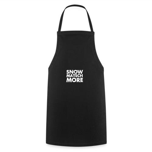 Snow Matsch More - T-Shirt Frauen mint/weiß - Kochschürze