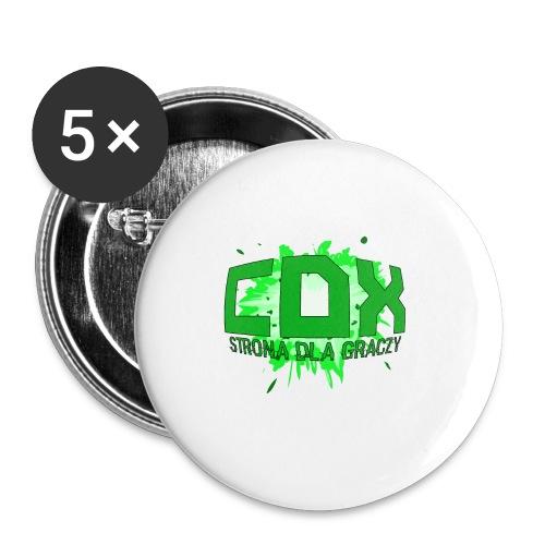 Podkładka pod myszkę CDX - Przypinka mała 25 mm