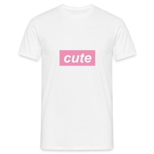 cute cap - Men's T-Shirt
