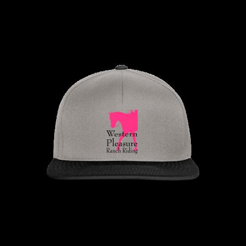 Motiv-166-Neonpink/Schwarz - Snapback Cap