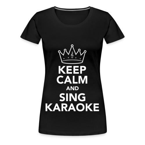 Keep Calm Tea Mug - Women's Premium T-Shirt
