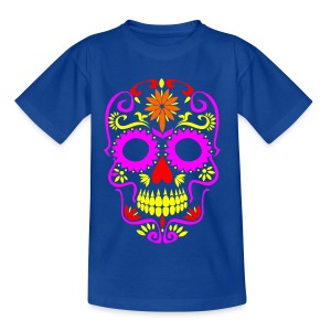 Skull totenkopf Men - Kinder T-Shirt