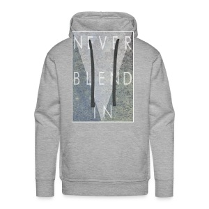 Grime Apparel Never Blend In Graphic Shirt.  - Men's Premium Hoodie