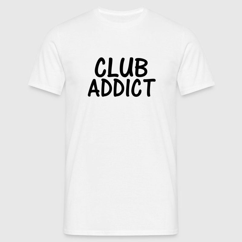 club addict T-Shirts - Men's T-Shirt
