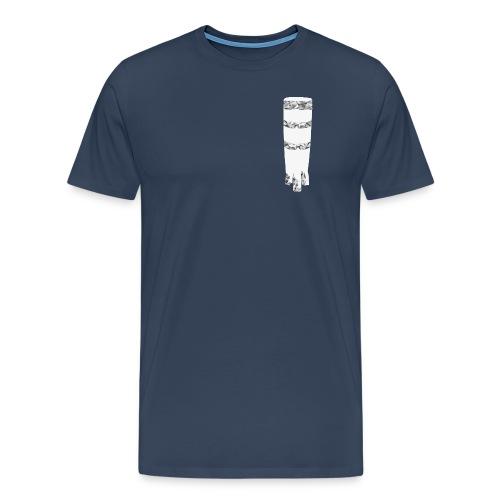 ngoma men´s v-neck navy - Männer Premium T-Shirt