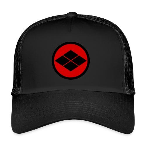 Takeda kamon Japanese samurai clan round - Trucker Cap