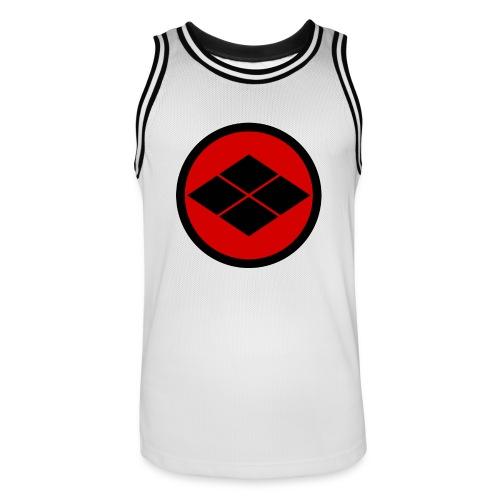Takeda kamon Japanese samurai clan round - Men's Basketball Jersey