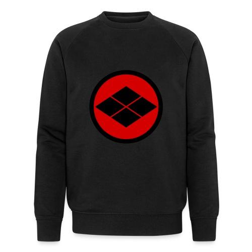 Takeda kamon Japanese samurai clan round - Men's Organic Sweatshirt by Stanley & Stella