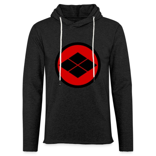 Takeda kamon Japanese samurai clan round - Light Unisex Sweatshirt Hoodie