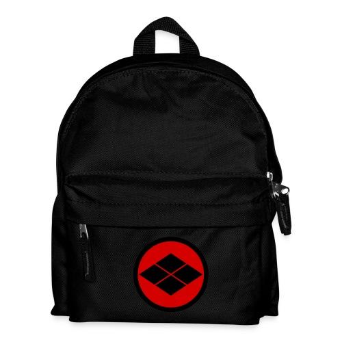 Takeda kamon Japanese samurai clan round - Kids' Backpack