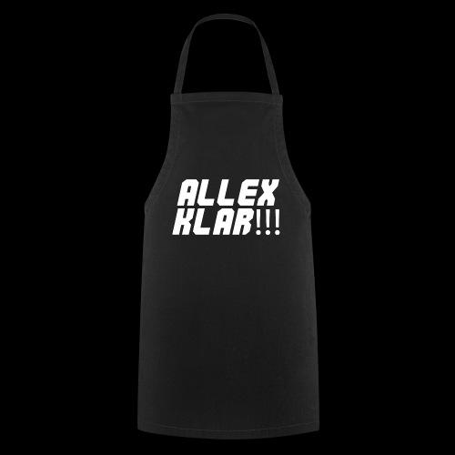 ALLEX KLAR!!! - T-Shirt - Kochschürze