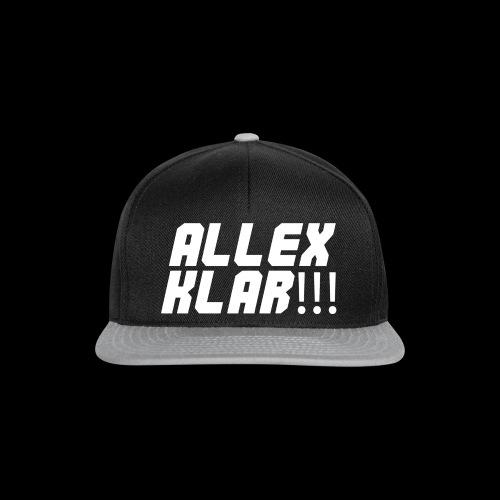 ALLEX KLAR!!! - T-Shirt - Snapback Cap