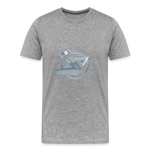Hoodie SkillsUnited Silver - Männer Premium T-Shirt