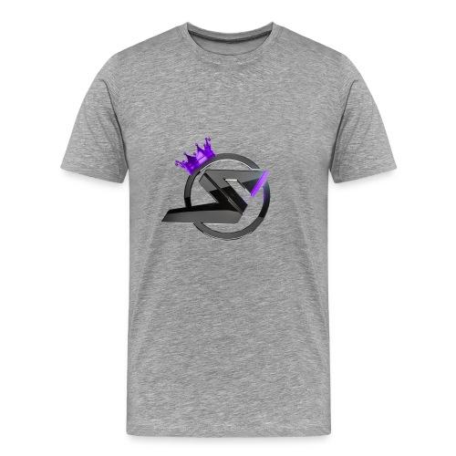 Hoodie SkillsUnited DeepPurple - Männer Premium T-Shirt