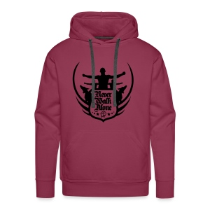 Never Walk Alone - Men's Premium Hoodie