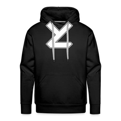 Years Later T-Shirt mit Logo male - Männer Premium Hoodie