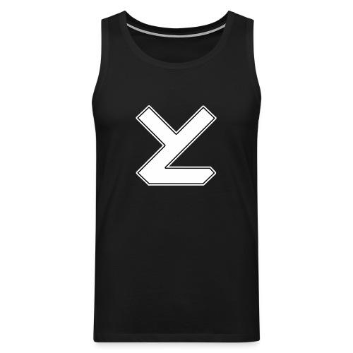 Years Later T-Shirt mit Logo male - Männer Premium Tank Top