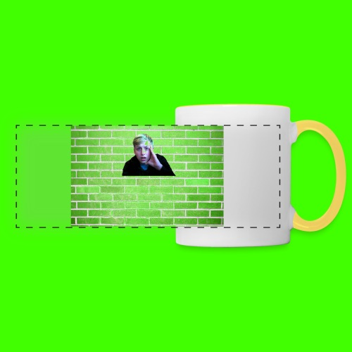 Steven's Face Badge  - Panoramic Mug