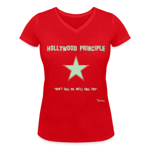 Hollywood Principle - Women's Organic V-Neck T-Shirt by Stanley & Stella