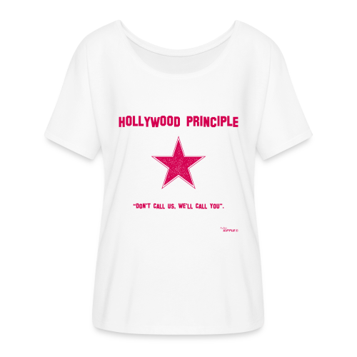 Hollywood Principle - Women's Batwing-Sleeve T-Shirt by Bella + Canvas