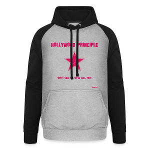 Hollywood Principle - Unisex Baseball Hoodie
