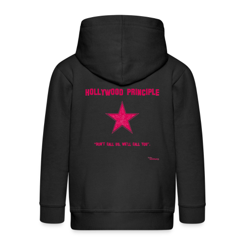 Hollywood Principle - Kids' Premium Zip Hoodie