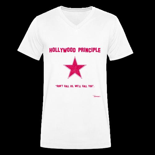 Hollywood Principle - Men's Organic V-Neck T-Shirt by Stanley & Stella