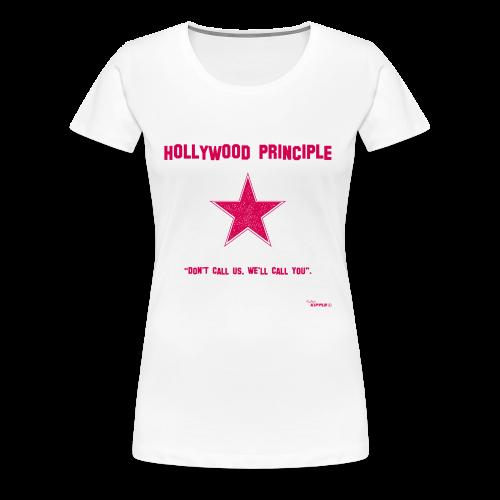 Hollywood Principle - Women's Premium T-Shirt