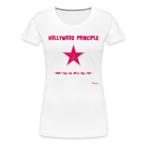 Hollywood Principle - Women's Premium T-Shirt
