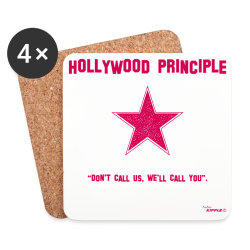 Hollywood Principle - Coasters (set of 4)