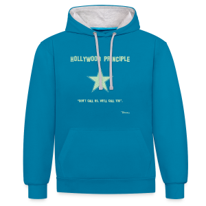 Hollywood Principle - Contrast Colour Hoodie