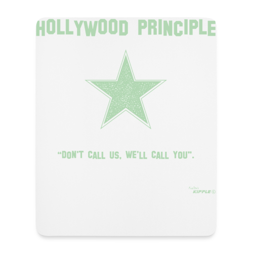Hollywood Principle - Mouse Pad (vertical)