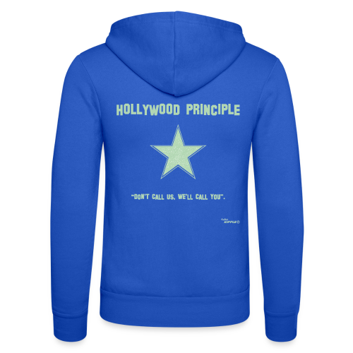Hollywood Principle - Unisex Hooded Jacket by Bella + Canvas