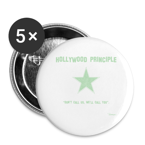 Hollywood Principle - Buttons large 56 mm