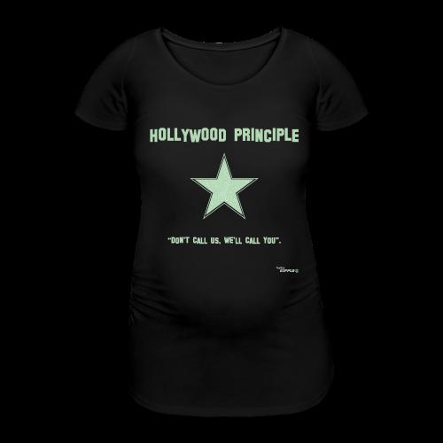 Hollywood Principle - Women's Pregnancy T-Shirt