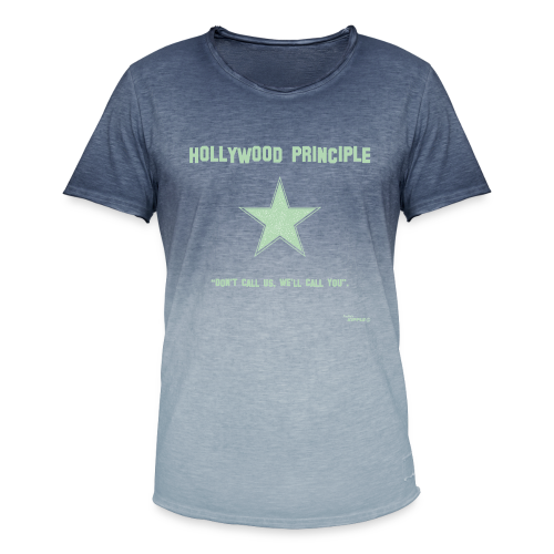 Hollywood Principle - Men's T-Shirt with colour gradients