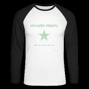 Hollywood Principle - Men's Long Sleeve Baseball T-Shirt