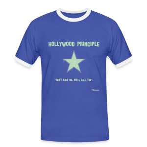 Hollywood Principle - Men's Ringer Shirt