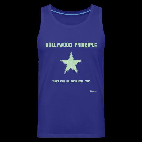Hollywood Principle - Men's Premium Tank Top