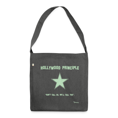 Hollywood Principle - Shoulder Bag made from recycled material